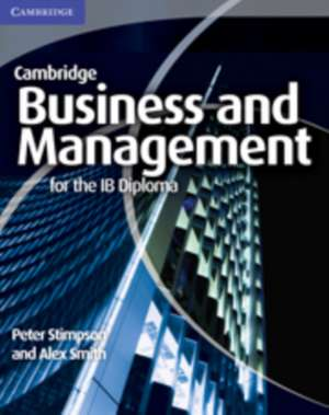 Business and Management for the IB Diploma imagine