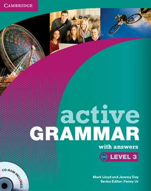 Active Grammar Level 3 with Answers and CD-ROM de Mark Lloyd