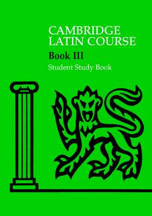 Cambridge Latin Course 3 Student Study Book