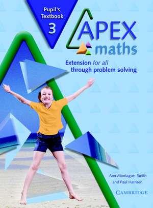 Apex Maths 3 Pupil's Textbook