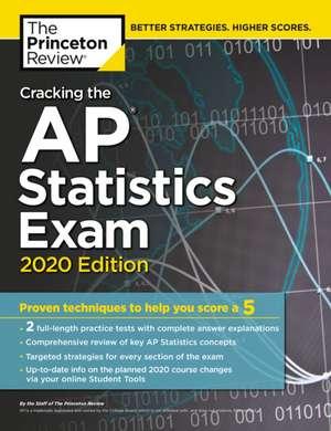 Cracking the AP Statistics Exam, 2020 Edition de Princeton Review