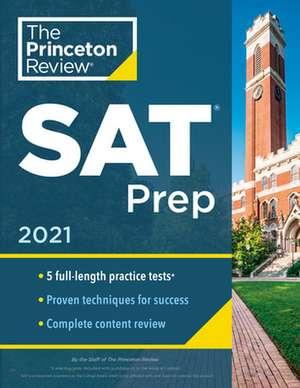 Princeton Review SAT Prep, 2021 de Princeton Review