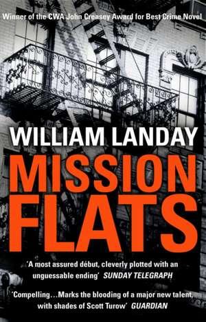 Mission Flats de William Landay