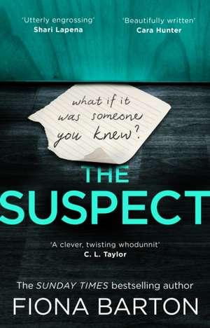The Suspect de Fiona Barton