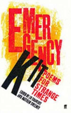 Emergency Kit de Jo Shapcott