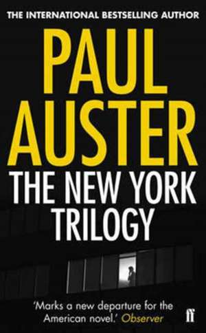 The New York Trilogy de Paul Auster
