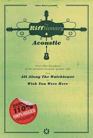 The Rifftionary Acoustic Guitar de  Various