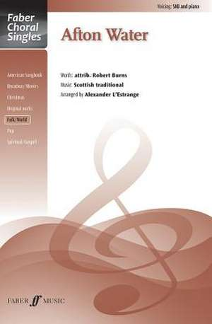 Afton Water de Alfred Publishing