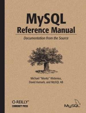 MySQL Reference Manual de Michael Widenius