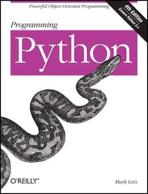 Programming Python 4e de Mark Lutz