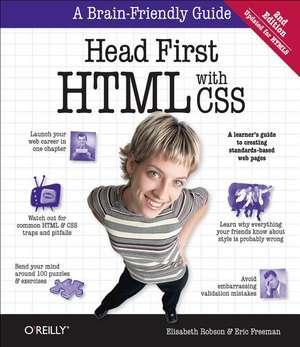 Head First HTML and CSS 2e de Elisabeth Robson