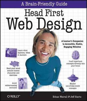 Head First Web Design de Ethan Watrall