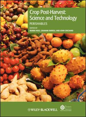 Crop Post–Harvest: Science and Technology