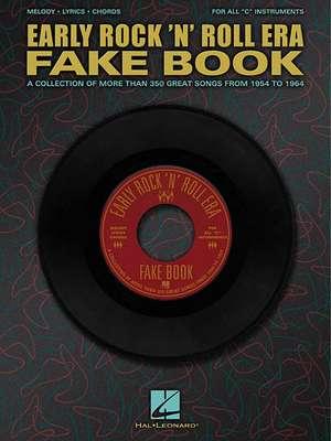 Early Rock'n'roll Era Fake Book de  Hal Leonard Corp