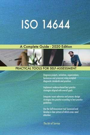 ISO 14644 A Complete Guide - 2020 Edition de Gerardus Blokdyk