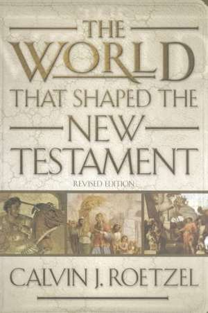 The World That Shaped the New Testament:  Witnesses to God's New Work de Roetzel