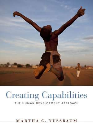 Creating Capabilities – The Human Development Approach