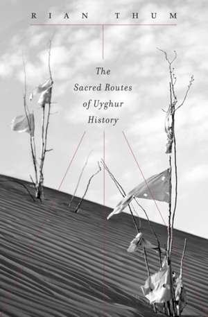 The Sacred Routes of Uyghur History de Rian Thum