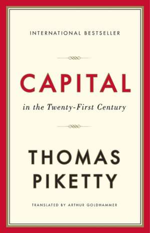Capital in the Twenty–First Century de Thomas Piketty