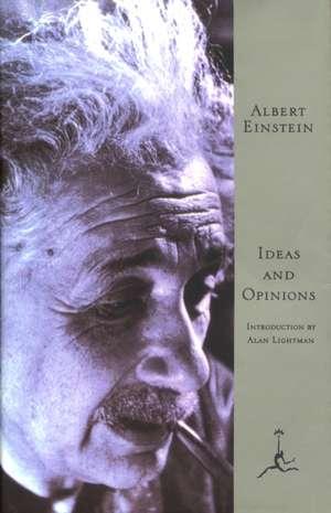 Ideas and Opinions de Albert Einstein