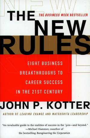 The New Rules de John P. Kotter