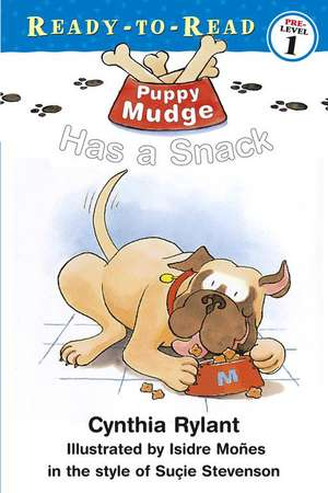 Puppy Mudge Has a Snack