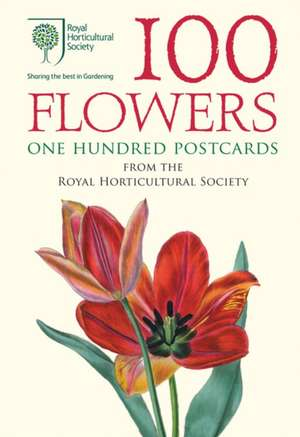 100 Flowers from the RHS. 100 Postcards in a Box