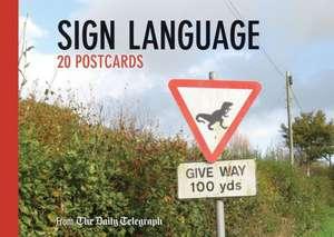 Sign Language - 20 Postcards