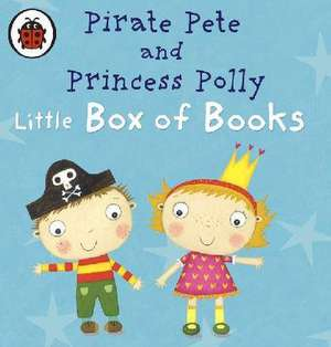 Pirate Pete and Princess Polly's Little Box of Books