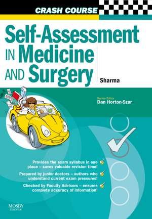 Crash Course: Self-assessment In Medicine And Surg