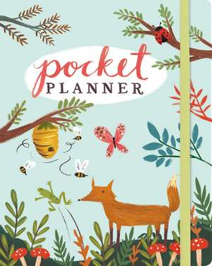 Forest Friends Pocket Planner: 11 x 14 cm de Yasmin Imamura