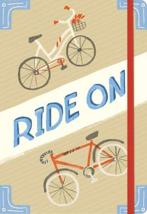 Jurnal biciclet Ride on Bicycles Essential de Galison