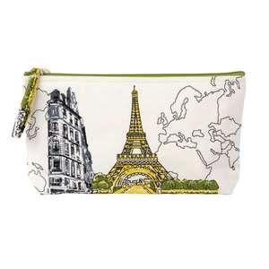 Paris Eiffel Tower Handmade Pouch de Galison