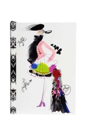 Carnet de schite Croquis Fashion Christian Lacroix 6