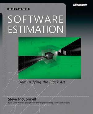Software Estimation: Demystifying the Black Art de Steve McConnell