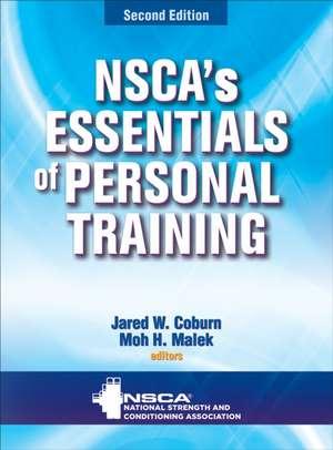 NSCA's Essentials of Personal Training de Jared W. Coburn