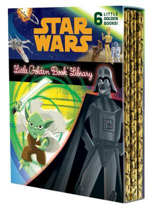The Star Wars Little Golden Book Library de various