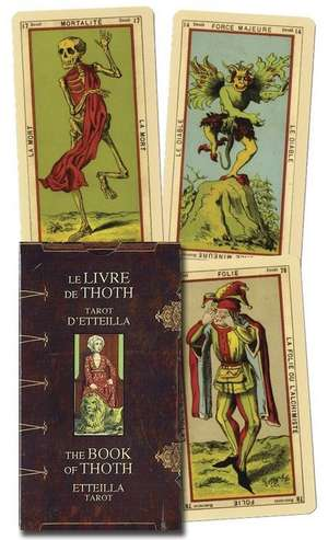 Book of Thoth - Etteilla Tarot de  Etteilla