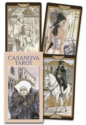 Casanova Tarot de Lo Scarabeo