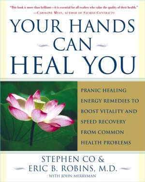 Your Hands Can Heal You:  Pranic Healing Energy Remedies to Boost Vitality and Speed Recovery from Common Health Problems de Master Stephen Co