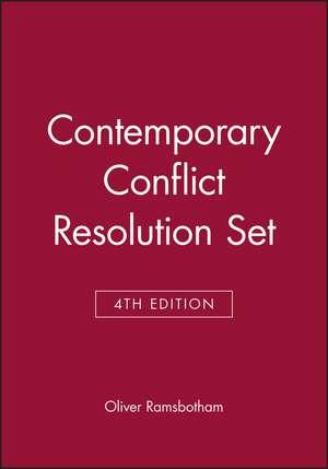 Contemporary Conflict Resolution, 4e Set