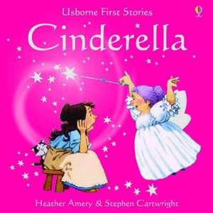 Usborne Fairytale Sticker Stories Cinderella