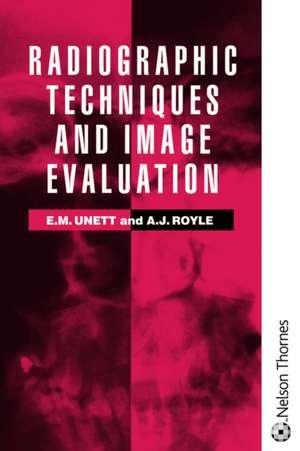 RADIOGRAPHIC TECHNIQUE & IMAGE EVAL imagine