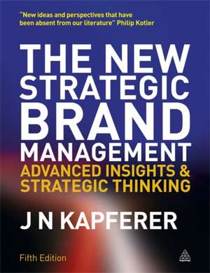 New Strategic Brand Management