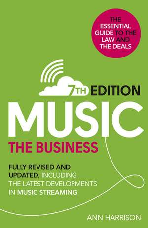 Music: The Business (7th edition) imagine