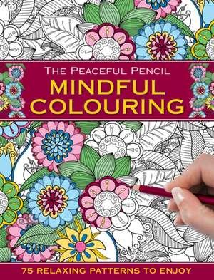 Carte colorat Mindfulness de Peony Press