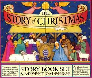The Story of Christmas Story Book Set & Advent Calendar