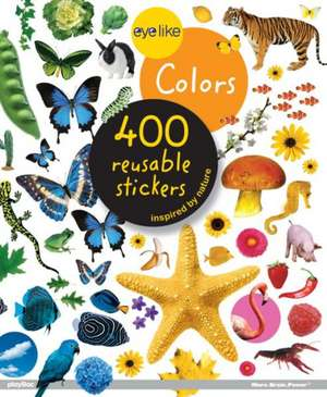 Eyelike Stickers, Colors