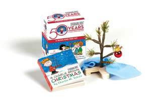 A Charlie Brown Christmas Kit: Book and Tree Kit de Charles M. Schulz
