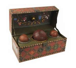 Harry Potter: Collectible Quidditch Set de Running Press